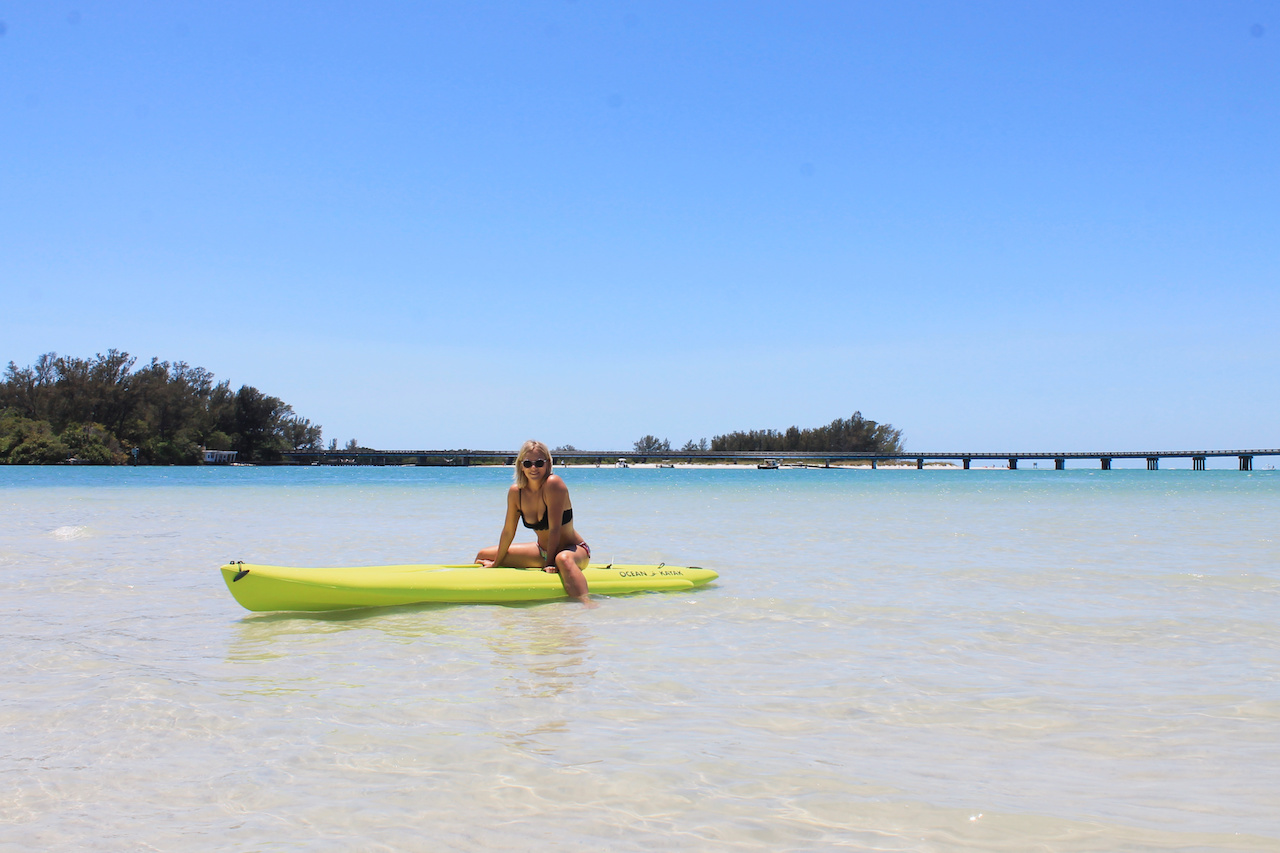 Stand Up Paddle Boarding In Longboat Key Sarasota Bay